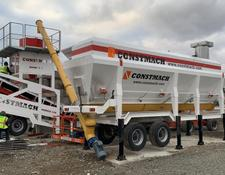 Constmach cement silo HORIZONTAL MOBILE