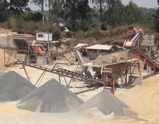 Constmach 100 tph CAPACITY MOBILE GRANITE CRUSHING PLANT