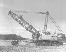 Sennebogen 6130HD   Serie B  Dragline excavator and crane