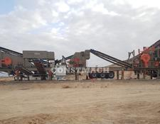 Constmach 120-150 tph CAPACITY MOBILE CRUSHING PLANT, CALL NOW!