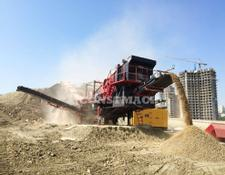 Constmach 150 tph CAPACITY MOBILE LIMESTONE CRUSHING PLANT