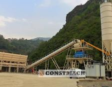 Constmach DELIVERY FROM STOCK!, 100 m3/h CAPACITY FIX TYPE CONCRETE PLANT